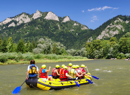 Rapid Rafting on the Dunajec