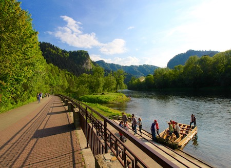 Rafting on the Dunajec